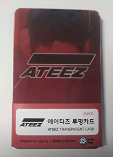 ATEEZ K-POP Photo Cards Set (Transparent 2019/12)