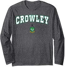 Crowley High School Fighting Gents Long Sleeve T-Shirt C2