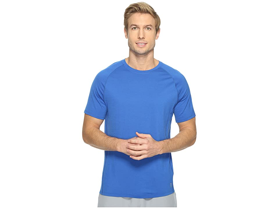 Smartwool Merino 150 Baselayer Short Sleeve (Bright Blue) Men