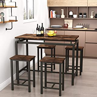 Recaceik Dining Table Set, 5 Piece Modern Kitchen Table...