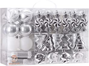 Best christmas ornament set silver Reviews