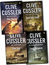 Clive Cussler Isaac Bell Frago Adventures 4 Books Collection Pack Set The Spy, Spartan Gold , Lost Empire, The Race