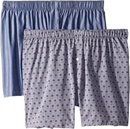 Fancy Woven Boxer 2-Pack