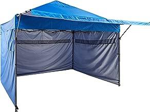 AmazonBasics - Carpa pop-up con paredes laterales, 3 x 3 m, azul