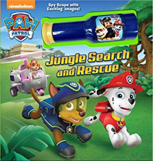 PAW Patrol: Jungle Search and Rescue: Storybook with Spyscope Viewer (Nickelodeon Paw Patrol)