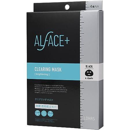 ALFACE(オルフェス) シートマスク クリアリングマスク 4枚入り箱 フェイスマスク