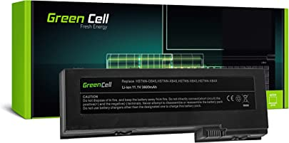 Green Cell OT06 OT06XL Laptop Akku f r HP EliteBook 2730p 2740p 2760p HP Compaq 2710p Tablet PC  Li-Polymer Zellen 3600mAh 11 1V Schwarz