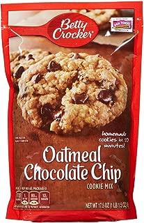 Betty Crocker Oatmeal Chocolate Chip Cookie Mix - 17.5 oz - 2 pk