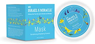 Herbal Hair Mask – My Israel's Miracle – Luxurious Revitalizing and Hydrating Formula for Hair – Powerful Organic Haircare Herbs from Israel (8 Ounce)