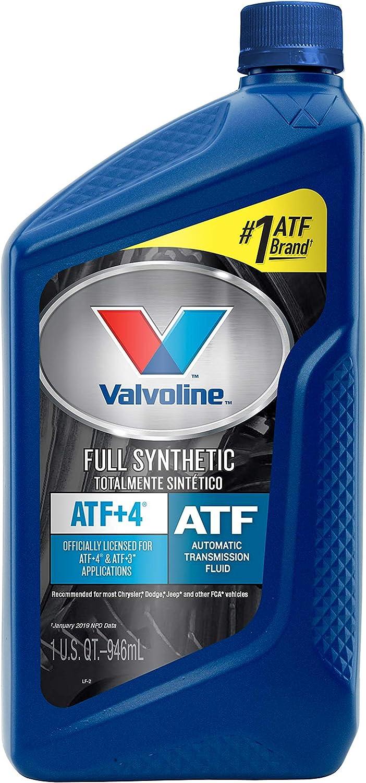 Valvoline ATF +4 Full Synthetic Automatic Transmission Fluid 1 QT: Automotive