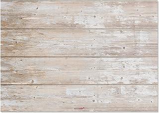 Juego de mantel de papel para mesa «madera clara», estilo