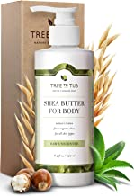 Real, Sensitive Skin and Eczema Lotion by Tree To Tub - pH 5.5 Balanced, Fragrance Free Lotion for Men and Women. Eczema, Psoriasis Treatment with Organic Shea Butter, Cocoa Butter, Aloe Vera 8.5 oz