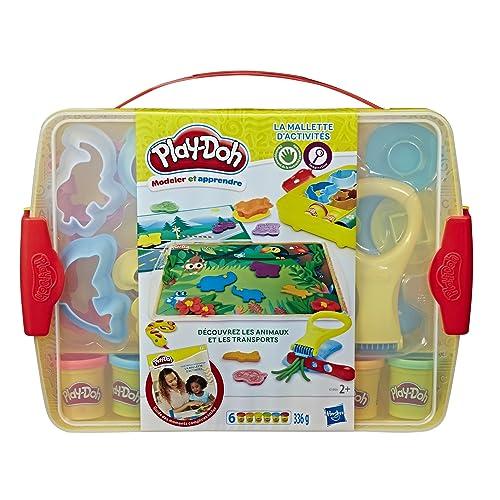 Play-Doh Mallette d'Activités-Pâte à Modeler, E1955, varié
