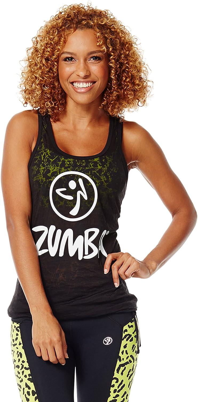 Zumba Fitness Women's Don't Burst My Bubble Tank Top