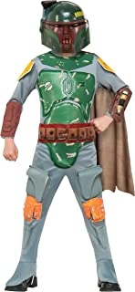 Rubies Star Wars Boba Fett Deluxe Child Costume (Medium) Multicolor