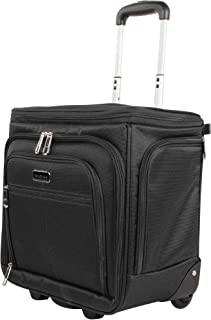 Ciao Designer 15 Inch Carry On - Weekender Overnight Business Travel Luggage- Convertible 2- Spinner Wheels Suitcase - Exp...