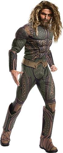 Rubie's Offizielles Aquaman-Kostüm für Erwachsene, DC Warner Bros Justice League