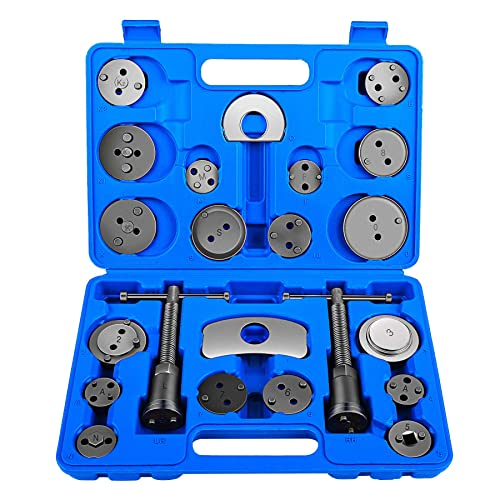 OrionMotorTech Mechanic Disc Brake Caliper Tool, Professional Automotive Tool with Wide Compatibility - Set of