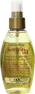 OGX Anti-Breakage Keratin Oil Instant Repair Weightless Healing Oil Mist, 4 Ounce