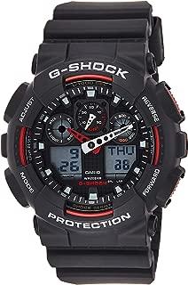 Casio G-Shock Men's Ana-Digi Dial Resin Band Watch - GA-100-1A4