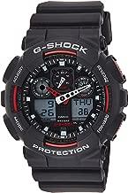 Casio G-Shock Ana-digi World Time Black Dial Men's watch #GA100-1A4