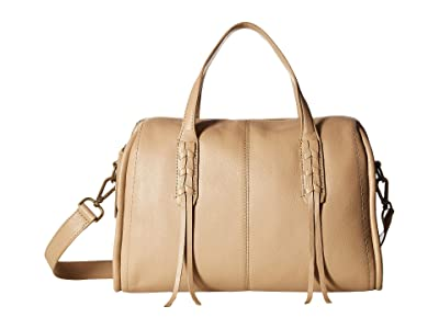 Lucky Brand Amber Satchel (Travertine) Handbags