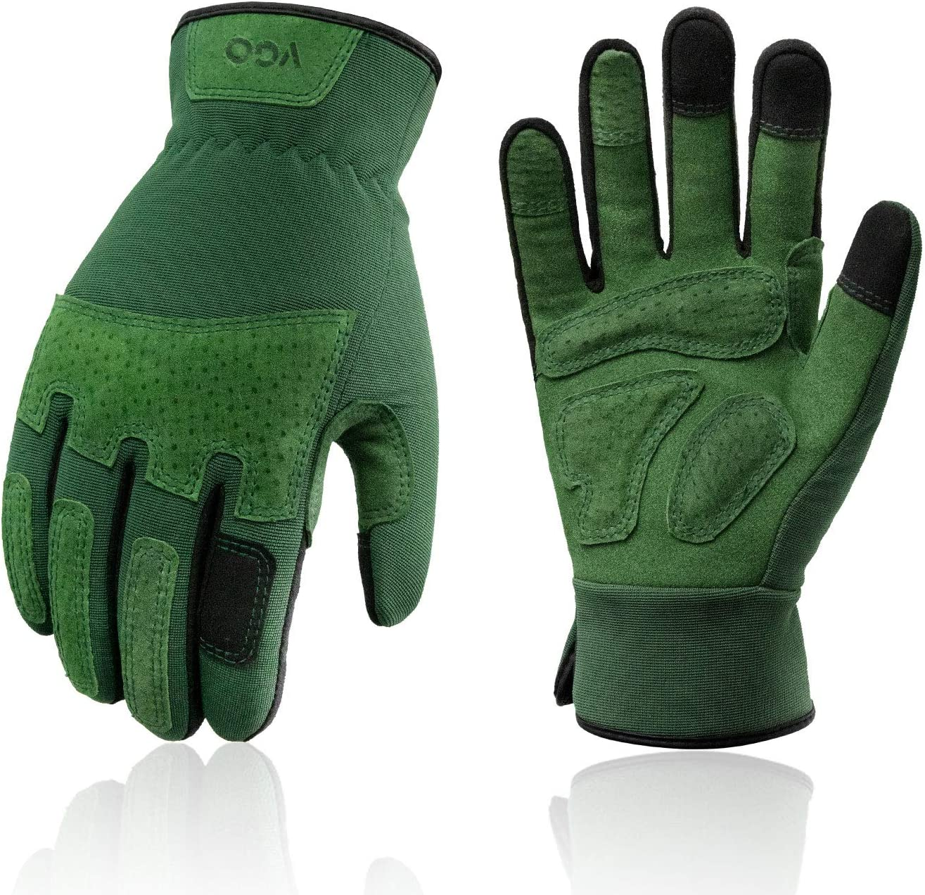 Vgo 1-Pair Ladies' Synthetic Gardening Puncture- Gloves 100% Super-cheap quality warranty Leather