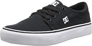 DC Trase TX-Low-Top Shoes for Boys, Scarpe da Skateboard Unisex-Bambini