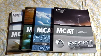 Best Kaplan Test Prep MCAT Complete Set 2011 (Lesson Book, Physics Review Notes, General Chemistry Review Notes, Verbal Reasoning Review Notes, Quicksheet, Organic Chemistry Review Notes, Biology Review Notes and Flash Cards) Review