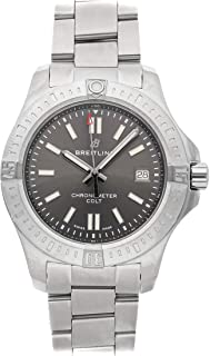 Breitling Colt Mechanical (Automatic) Grey Dial Mens Watch A17313101/F1A1 (Certified Pre-Owned)