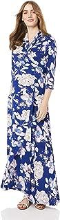 Maive & Bo Women's Harper Maternity & Nusring Dress in Navy Floral
