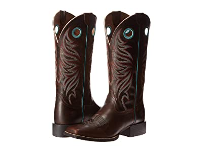 Ariat Round Up (Sassy Brown) Cowboy Boots