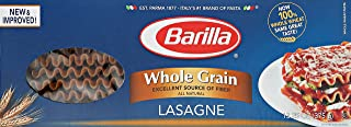 whole wheat pasta lasagna