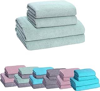 HOPS Handdoekenset, badhanddoek groot, badhanddoeken, handdoek sneldrogend, handdoekenset, handdoeken 50x100, badhanddoek/...