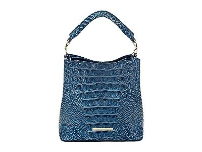 Brahmin Melbourne Mini Amelia Crossbody (Bluebonnet) Handbags