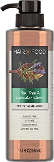 Sulfate Free Shampoo, Dye Free Purifying Treatment, Tea Tree and Lavender, Hair Food, 17.9 FL OZ