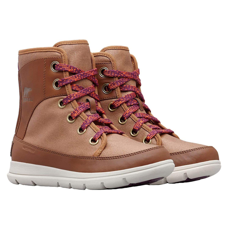 [ソレル] レディース 女性用 シューズ 靴 ブーツ レースアップブーツ Explorer 1964 - Camel Brown/Nutmeg [並行輸入品]