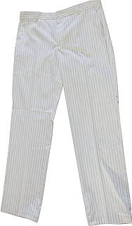 NIKE golf tour performance pinstripe flat front tech golf pants dri fit 509740 100