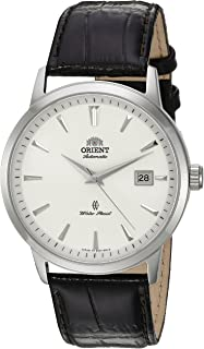 Orient Mens Symphony Gen. II Japanese Automatic Stainless Steel and Leather ...