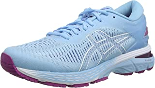 ASICS Australia Gel-Kayano 25 Women's Running Shoe, Black/Glacier Grey