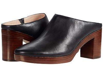Madewell Jojo Platform Mule (True Black Leather) Women