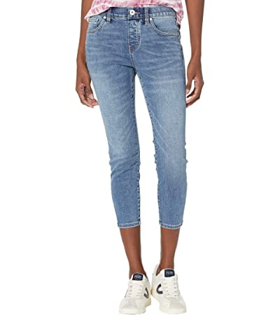 Jag Jeans Petite Valentina High-Rise Pull-On Skinny Crop Jeans