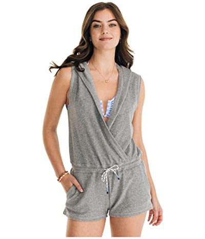 Southern Tide Filippa Cover-Up Romper (Heather Grey) Women