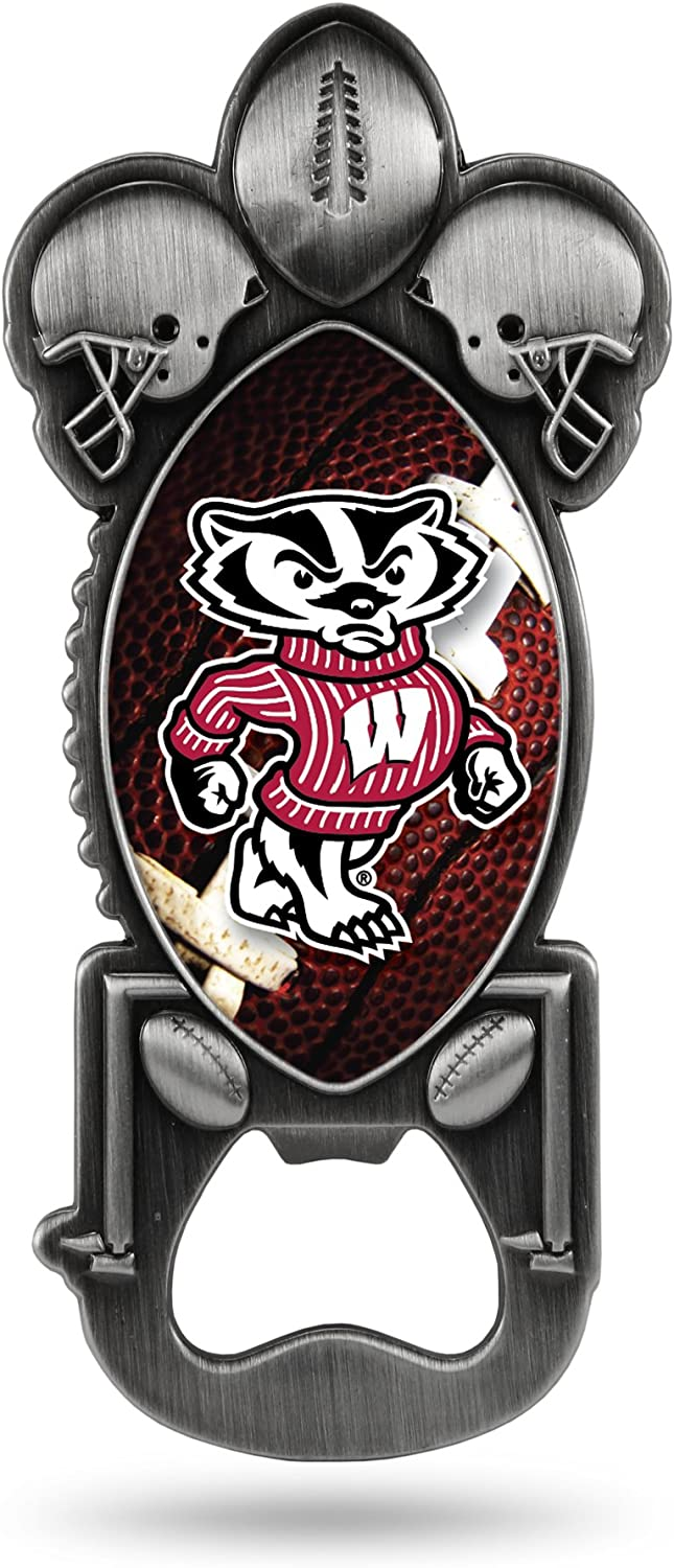 Rico Free shipping on posting reviews Industries NCAA Wisconsin Special price Badgers Magnetic Ope Bottle Metal