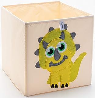 Kallax - Boîtes de rangement pliables en tissu lavable, pour armoire, meubles, chambre d'enfant, rangement et peluche, 33 ...