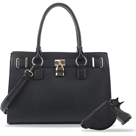 Emperiaoutfitters Concealed Carry Purse - Dina Lock Concealed Carry Satchel