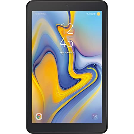 "Samsung Galaxy Tab A SM-T387 8"" Tablet - 32 GB Storage - WiFi and Verizon 4G - Black - (Renewed)"