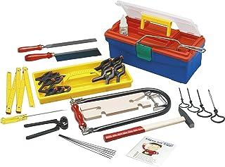 Pebaro 650 - Sierra de marquetería con caja de herramientas