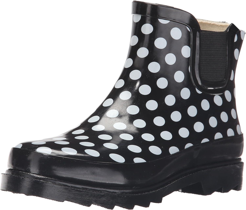 Sunville - Womens Short Ankle Rubber Rain Boots