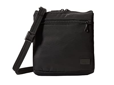Pacsafe Citysafe CS50 Anti-Theft Crossbody Purse (Black) Cross Body Handbags